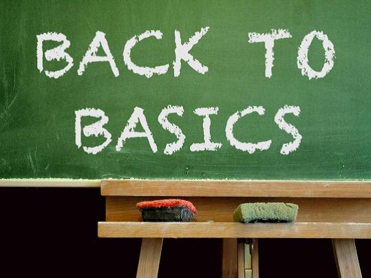 22 ott INIZIO CORSI – BACK TO BASICS