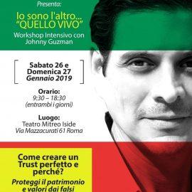 26 e 27 Gennaio JOHNNY GUZMAN a Roma