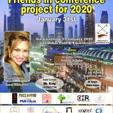 31 Gennaio – Gala Dubai – Friends in conference